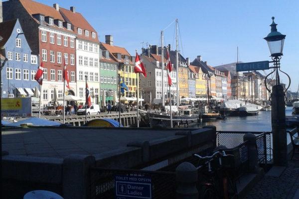 Kopenhagen in Dänemark mit dem Nachtzug