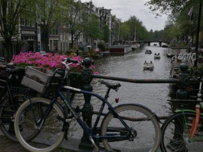 Amsterdam mit dem Nachtzug