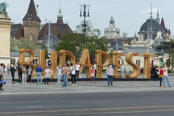 Budapest in Ungarn mit dem Nachtzug