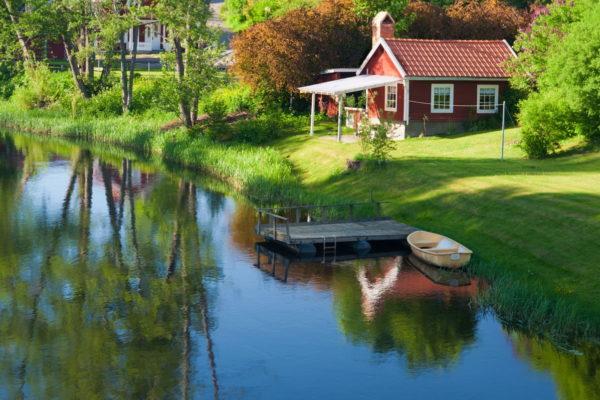 Urlaub in Alvesta, Schweden