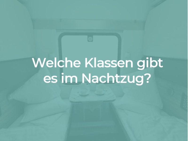 Schlafwagen im Nachtzug